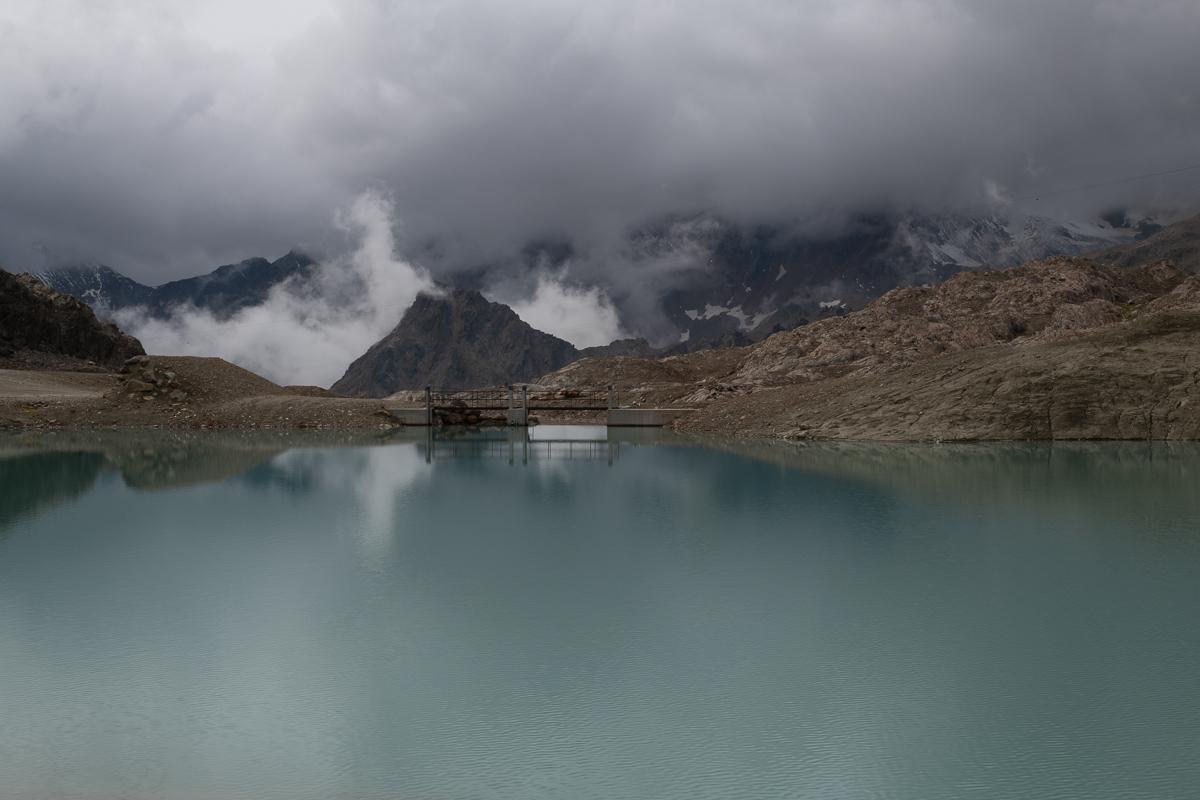 Gletscher-Skigebiet